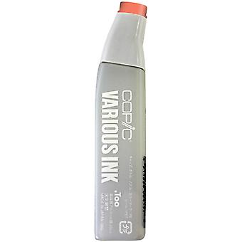 Copic Various Ink Refill For Sketch & Ciao Markers-Lipstick Orange
