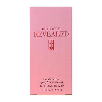 Elizabeth Arden Red Door paljasti Eau De Parfum Spray 25 ml: 0,85 Oz-ruutuun