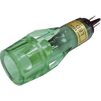 LED indicator light Green 12 Vdc