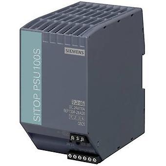 Siemens SITOP PSU100S 24 V/10 A Rail mounted PSU (DIN) 24 Vdc 10 A 240 W 1 x