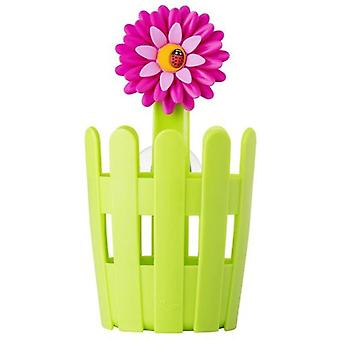 VIGAR Kitchen Tool Holder With Suction Cup Flower Power