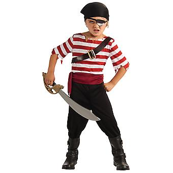 Black Jack Pirate Captain Cutthroat Treasure Hunter Book Week Boys Costume