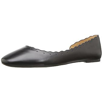 Nine West Womens mai Leather Pointed Toe Ballet Flats