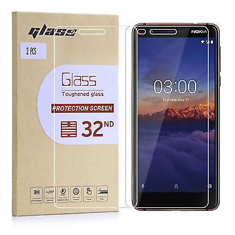 Extra Armoured Tempered Glass for Nokia 3.1 (2018) - 2 Pack