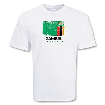 Sambia Fußball-T-Shirt