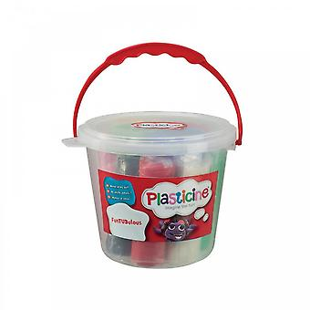 Flair Plasticine FunTUBulous In A Bucket
