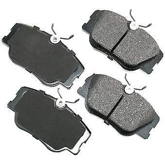 Akebono EUR423 EURO Ultra-Premium Ceramic Brake Pad Set