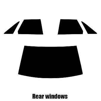Pre cut window tint - Renault 21 4-door Saloon - 1986 to 1994 - Rear windows