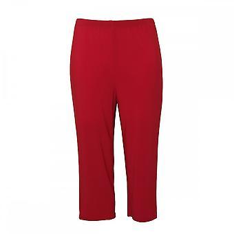Frank Lyman Women's Cropped Jersey Trousers