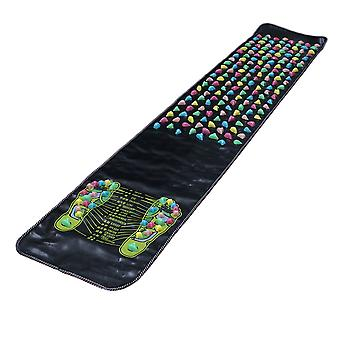 Zone therapeutic mat for foot massage