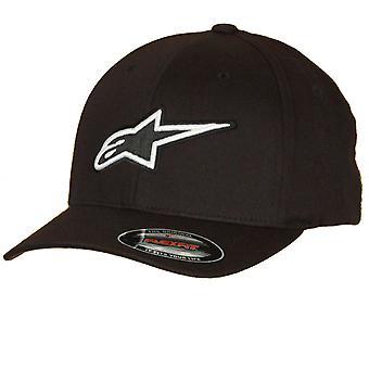 Alpinestars Medium Curve Flexfit Cap ~ Corporate Black