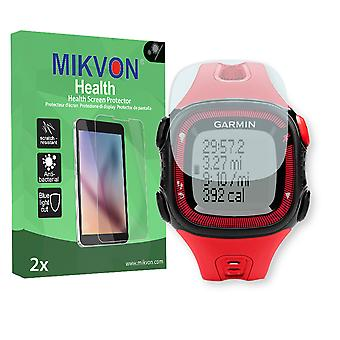 Garmin Forerunner 15 L Screen Protector - Mikvon Health (Retail Package with accessories)