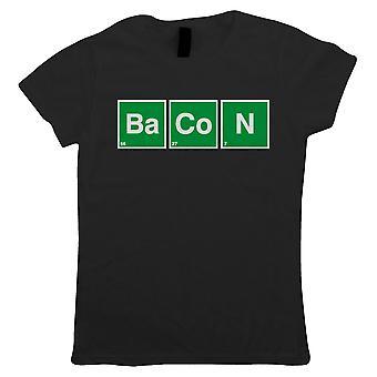 Speck-Periodensystem, Frauen T-Shirt
