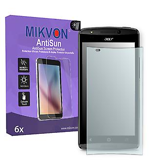Acer Liquid E700 Screen Protector - Mikvon AntiSun (Retail Package with accessories)