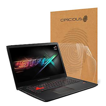 Celicious Vivid Invisible Glossy HD Screen Protector Film Compatible with ASUS ROG GL702VT [Pack of 2]