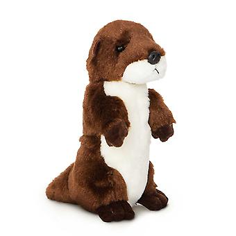 Aurora Mini Flopsies - River Otter Soft Toy 20cm