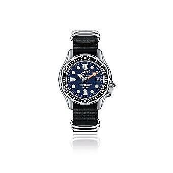 CHRIS BENZ - Reloj Diver - DEEP 500M AUTOMATIC - CB-500A-B-NBS
