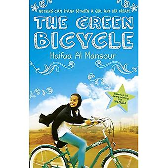 A bicicleta verde
