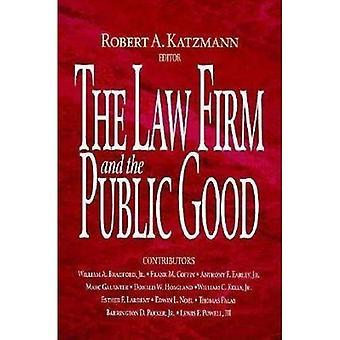 La firma de abogados y el bien público