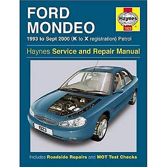 Ford Mondeo Service and Repair Manual: 1993 to Sept 2000 (K to X Reg) (Haynes Service and Repair Manuals)