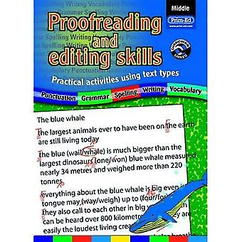 Proofreading and Editing Skills: Middle: Practical Activities Using Text Types