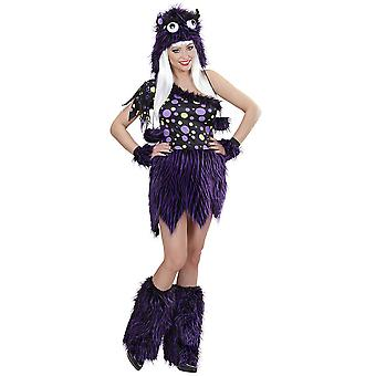 Women costumes  Sexy Purple Monster Costume for Ladies