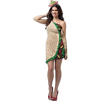 Taco vrouw kostuum