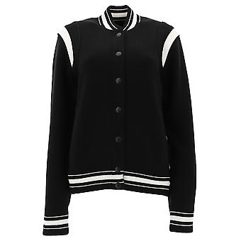 Givenchy Black Wool Outerwear Jacket