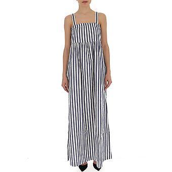 Semi-couture White/grey Cotton Dress