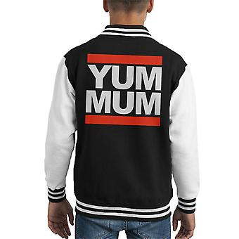 Run DMC Yum Mama Kid Varsity Jacket