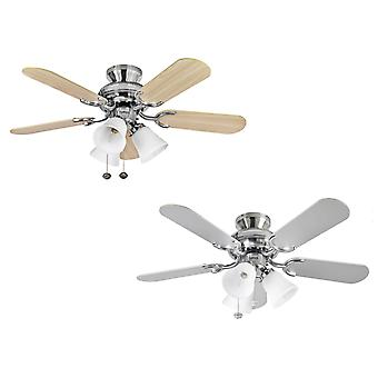 Ceiling Fan Fantasia Capri Combi Steel 91cm / 36