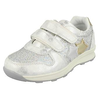 Girls Spot On Star Design Trainers H2528