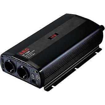 AEG ST 1200 Inverter 1200 W 12 Vdc - 230 V AC Incl. remote control