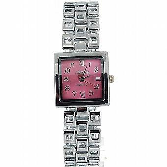 Olivia samling damer torget rosa urtavla armband Strap Dress Watch COS15