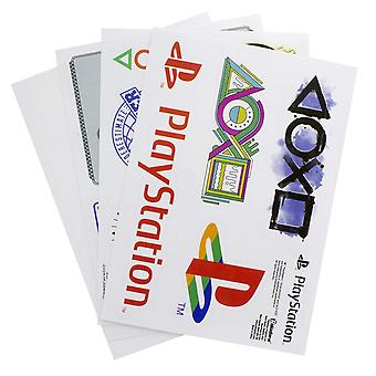 Playstation Gadget Decals Reusable Stickers