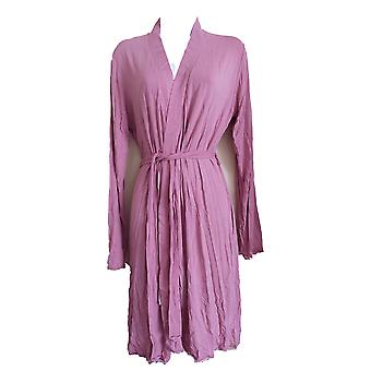 Triumph Body Make Up Light Lace Robe Knee Length Full Sleeve