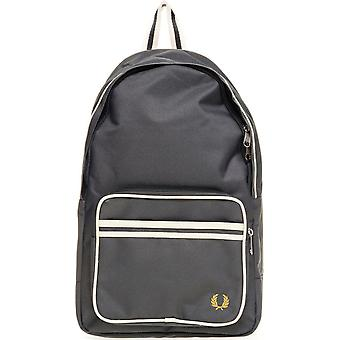 Fred Perry Twin Tipped Rucksack Rucksack Tasche - L2201-614 - Mid Grey