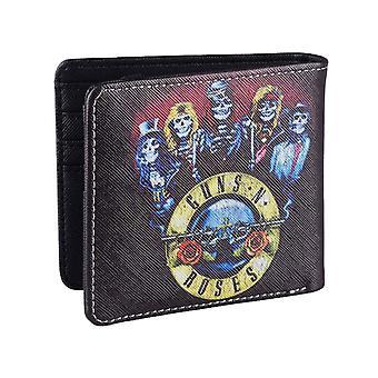Guns N Roses Wallet Skeletons Band Logo new Official Black Bifold