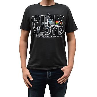 Amplified Pink Floyd Space Pyramid Charcoal Crew Neck T-Shirt XL