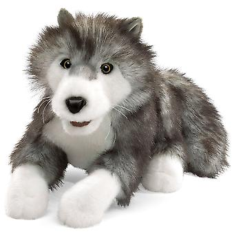 Hand Puppet - Folkmanis - Wolf Timber New Animals Soft Doll Plush Toys 2171