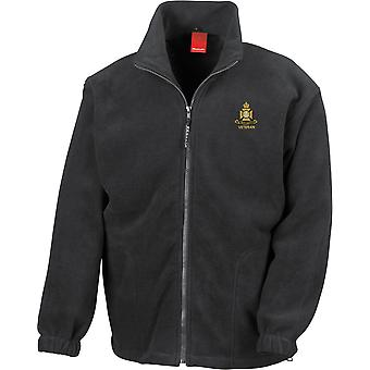 Wiltshire Regiment Veteran - Licensed British Army Embroidered Heavyweight Fleece Jacket