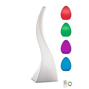 Mantra Flame Table Lamp Large Induction LED RGB Outdoor IP65 , 120lm, Opal White, 3yrs Warranty