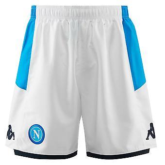 2019-2020 Napoli Kappa Third Shorts (White)