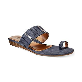 Style & Co. Womens Beticiap Fabric Open Toe Casual Slide Sandals