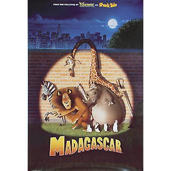 Madagaskar (yksipuolinen Advance-uudelleentulostus)-juliste