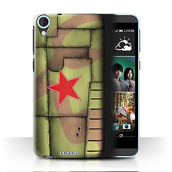 STUFF4 Case/Cover for HTC Desire 820s Dual/Soviet/Green/Airplane Fighter Wing