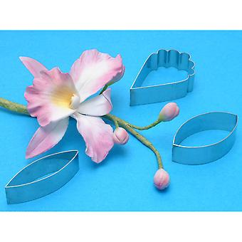 Petal Cutter Set 3 Pieces Cattleya Orchid Flower Co220