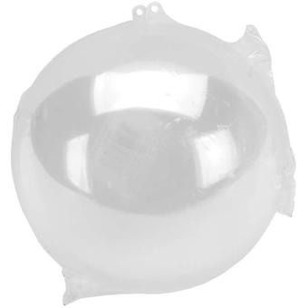 Hanging Ball Ornament 140Mm Clear 1105 89