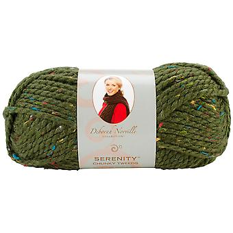 Deborah Norville Collection Serenity Chunky Tweed Yarn-Cypress DN900-4