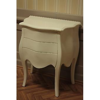 retro chest of drawers white laquere    chest of drawers online